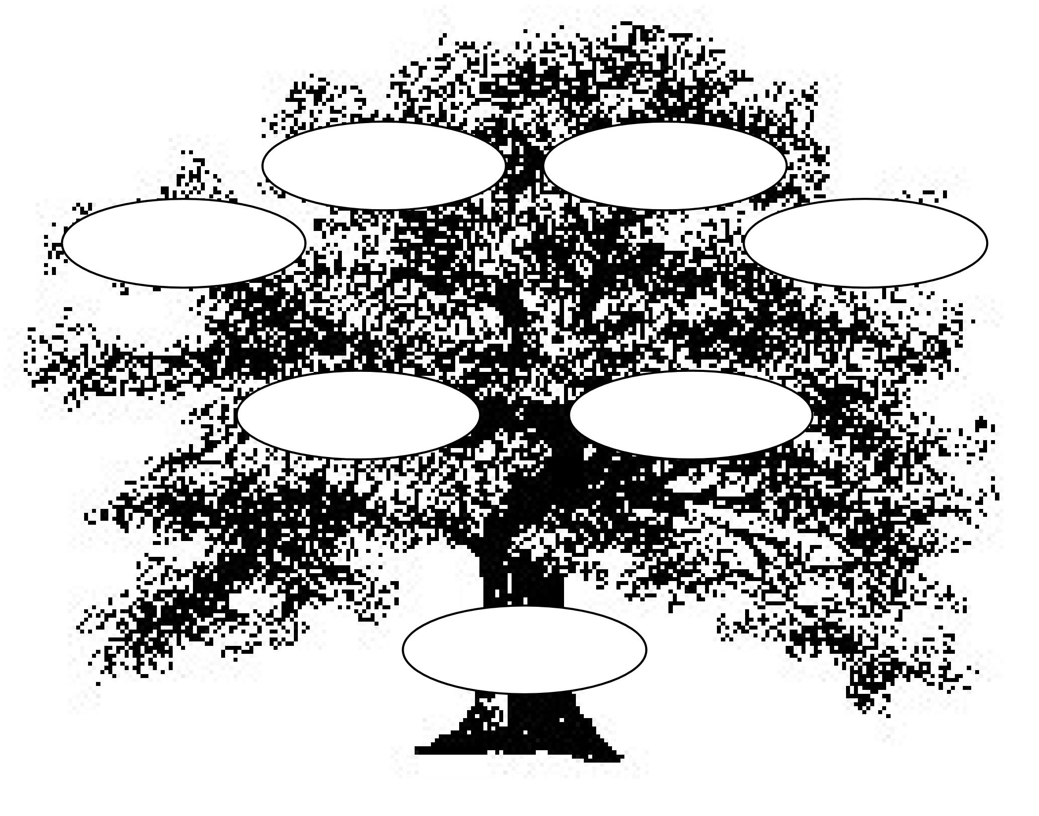 Free clipart image family tree.