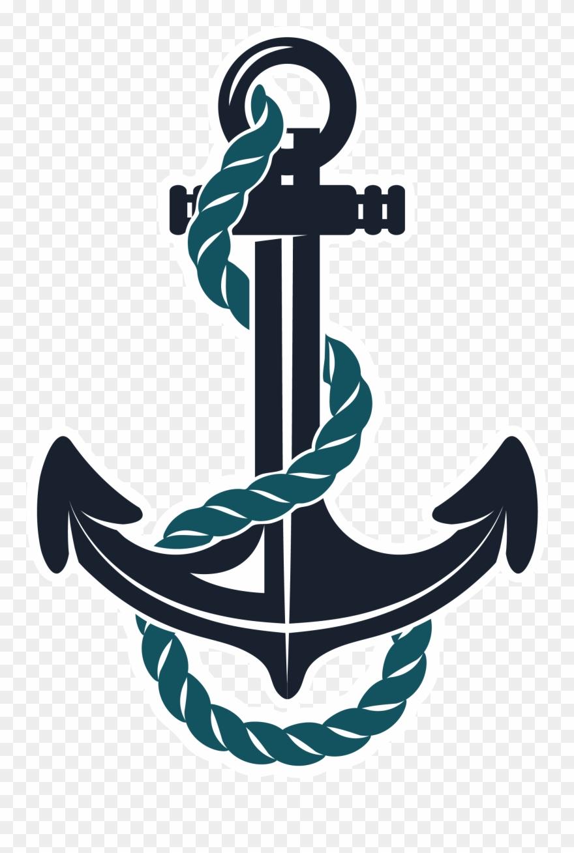 Anchor Clipart Teal.