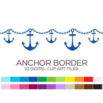 Nautical Border Clipart.