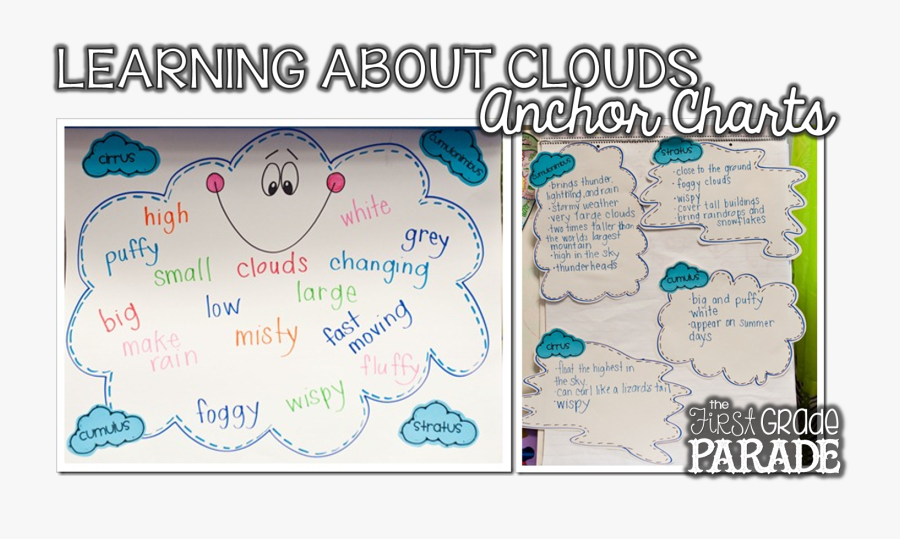 First Grade Weather Anchor Chart , Free Transparent Clipart.