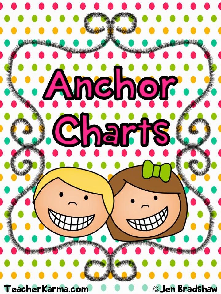 Anchor Chart Clipart.