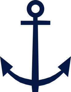 Red Anchor Clipart.