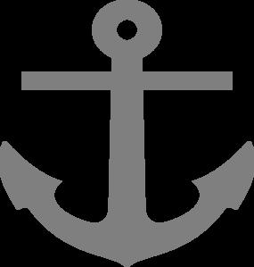 Gray Anchor Clip Art at Clker.com.