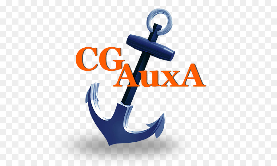 United States Coast Guard Auxiliary Anchor png download.