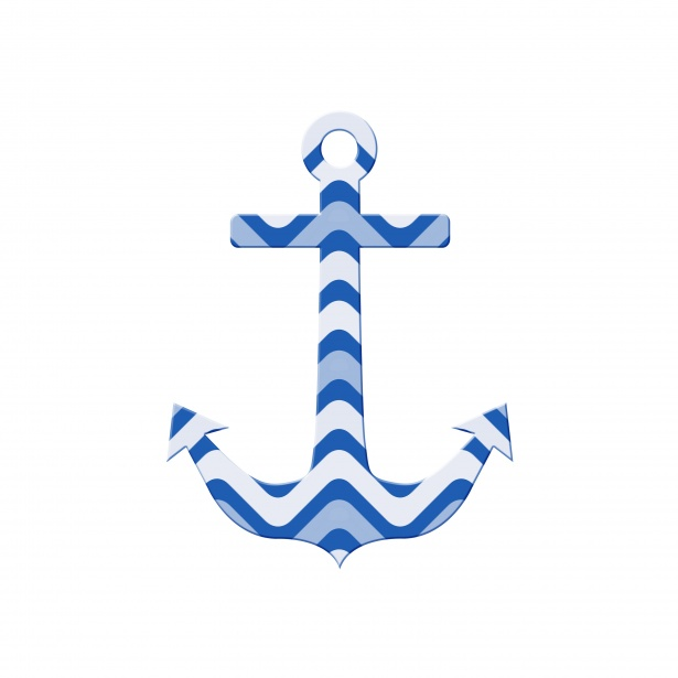 Anchor Clipart Pattern Free Stock Photo.