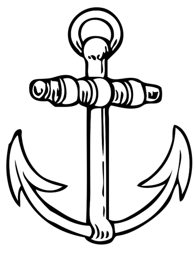 Anchor drawing.