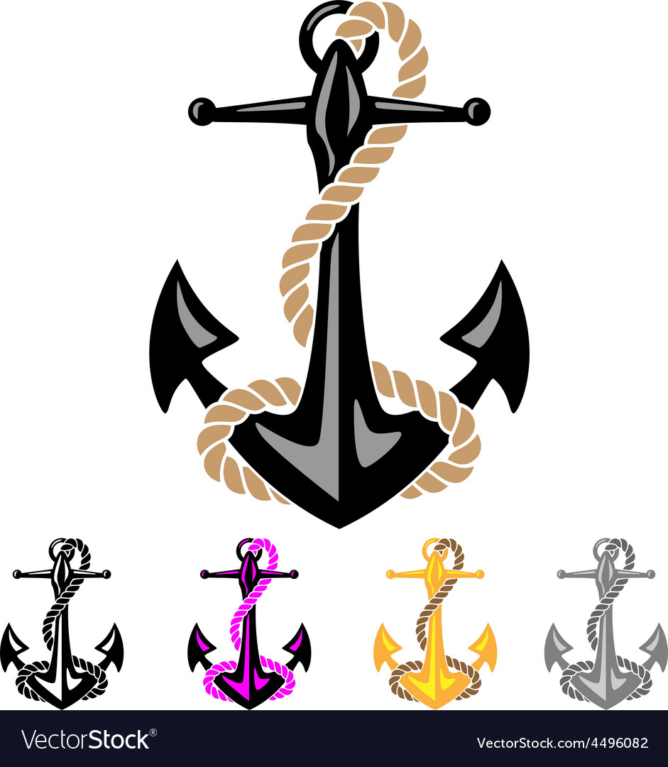 Anchor with Rope.