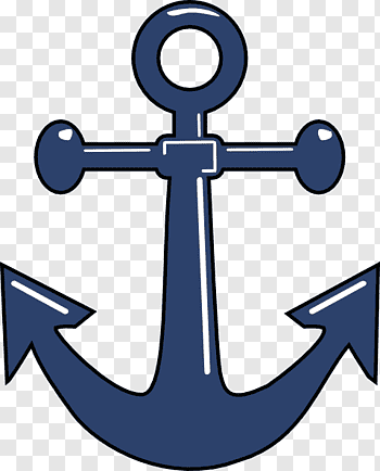 Stockless Anchor cutout PNG & clipart images.