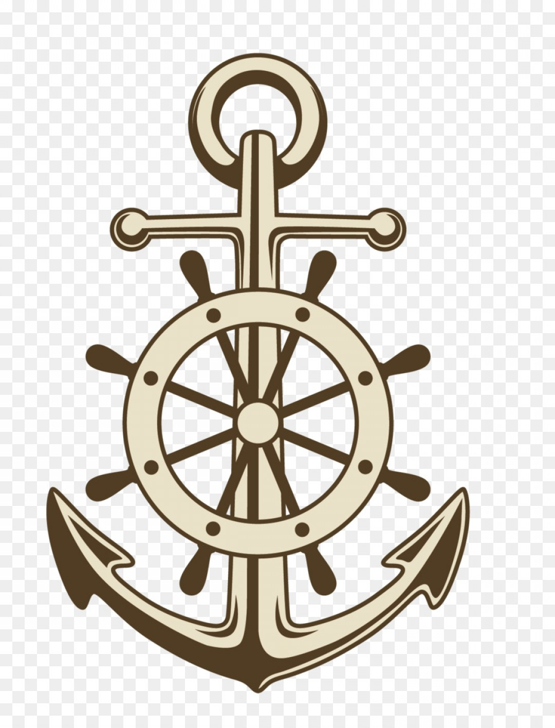 Png Anchor Ships Wheel Paper Clip Art Vector Painted A.