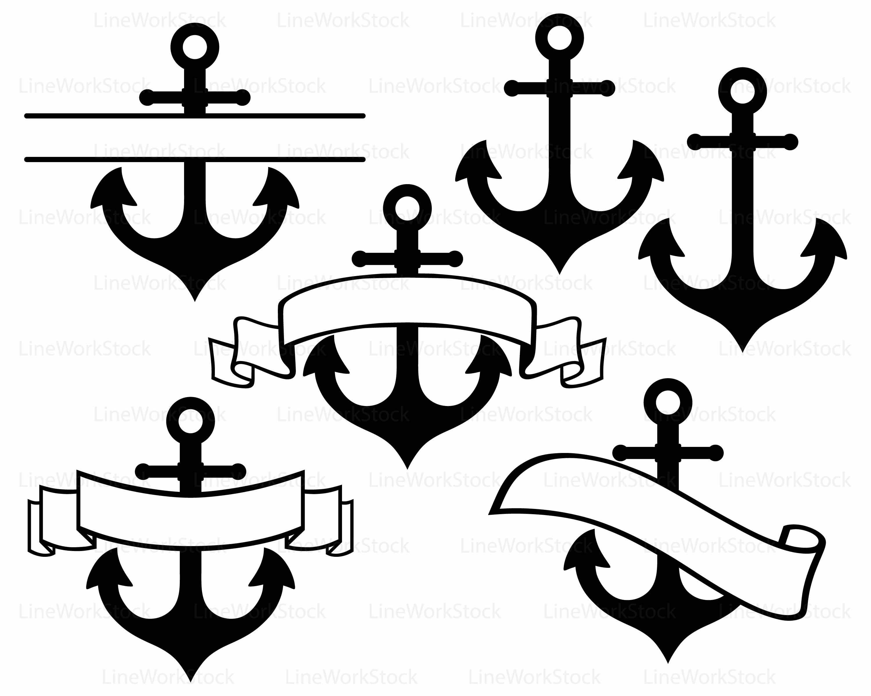 Download Anchor Svg Anchor Silhouette Download Png Clipart PNG Free.
