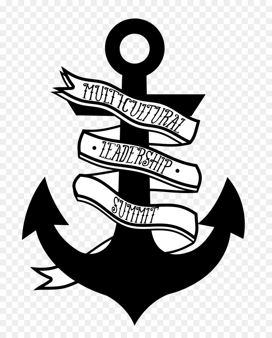 Anchor Silhouette png download.