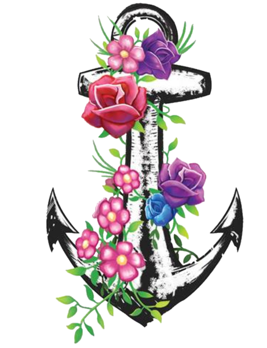 Clipart anchor flower, Clipart anchor flower Transparent.