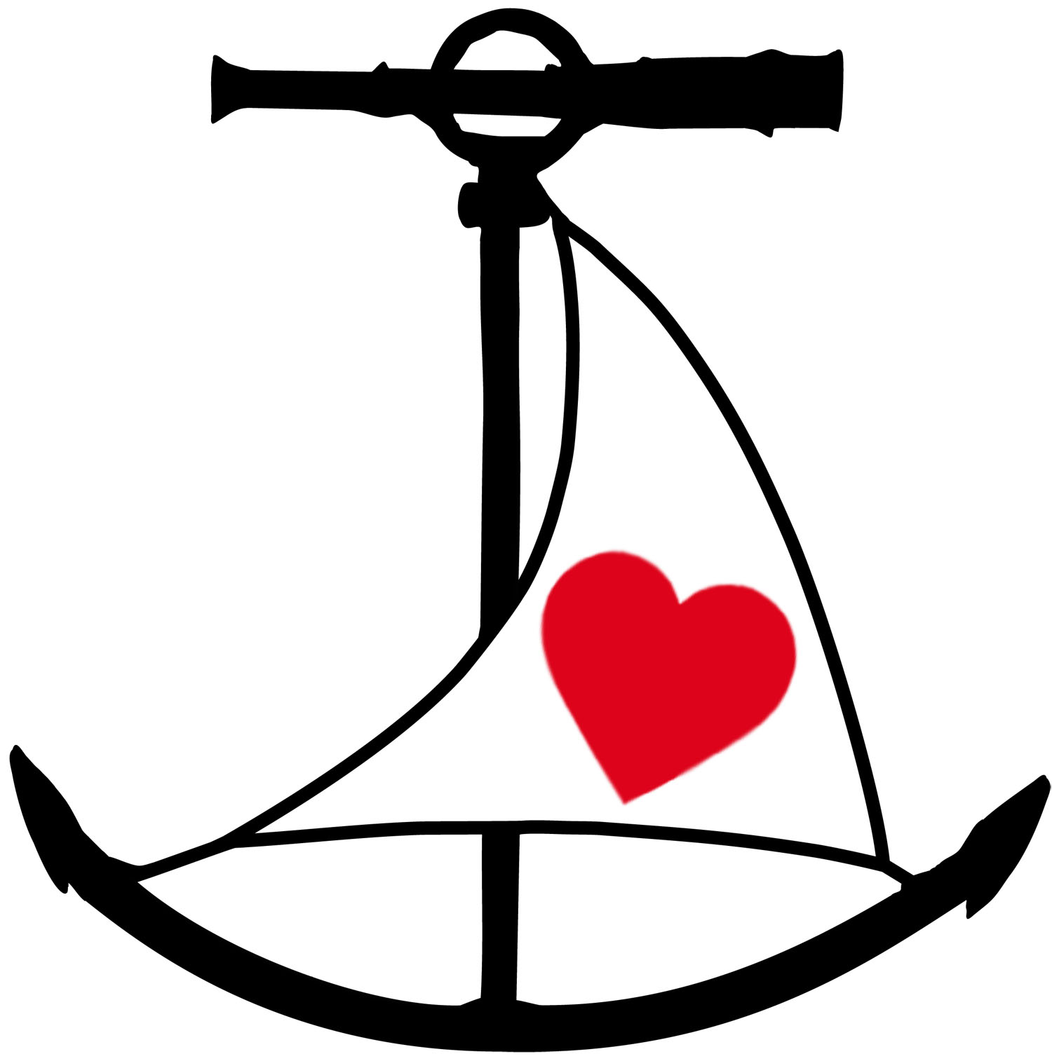 Heart anchor clip art clip art library.