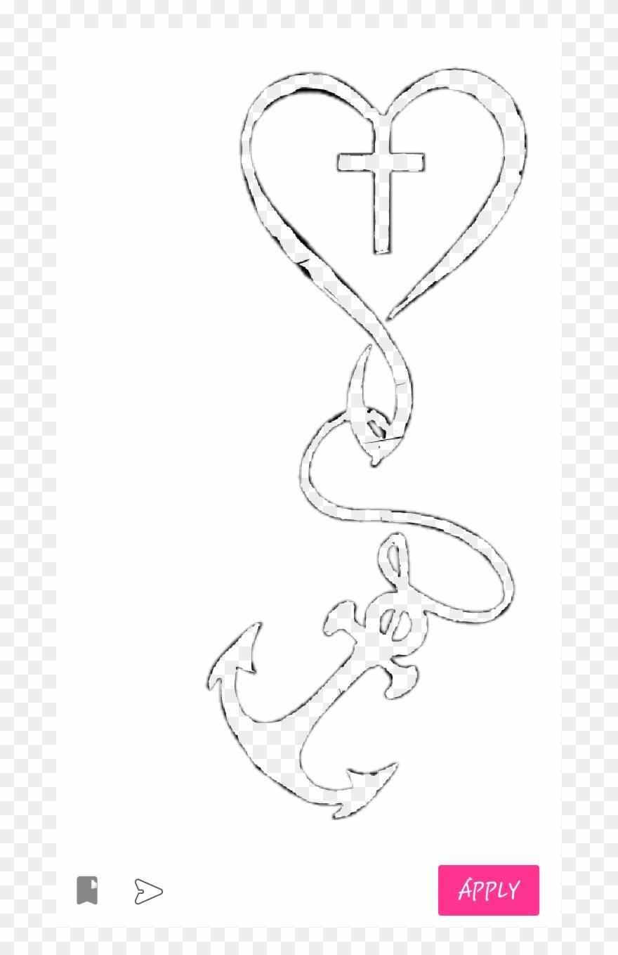 Heart Anchor Cross Clipart (#2695964).