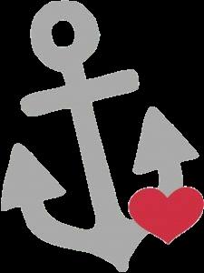anchor heart.
