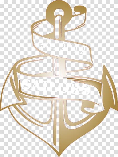 Anchor Ribbon , anchor transparent background PNG clipart.