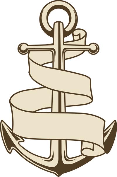 Anchor clipart ribbon, Anchor ribbon Transparent FREE for.