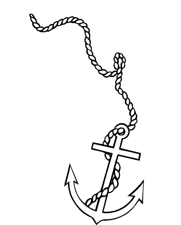 Anchor With Rope Clipart (94+ images in Collection) Page 2.