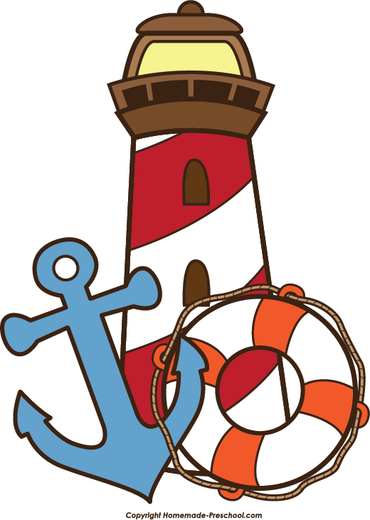 Anchor clipart life preserver Pencil and in color anchor.