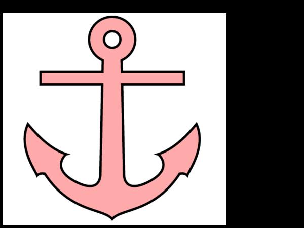 Cute anchors clipart.