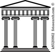 Ancient architecture Clip Art Vector Graphics. 12,426 ancient.