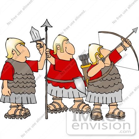 Roman Army Clipart.