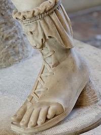 Ancient Roman Shoes.