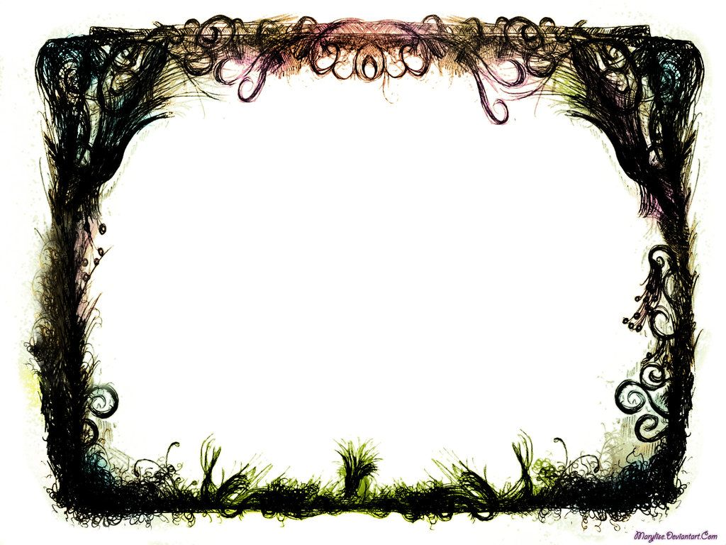 Grunge Fantasy Border by ~Marylise on deviantART.