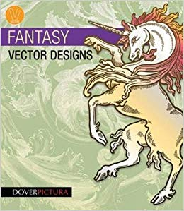 Fantasy Vector Designs (Dover Pictura Electronic Clip Art.