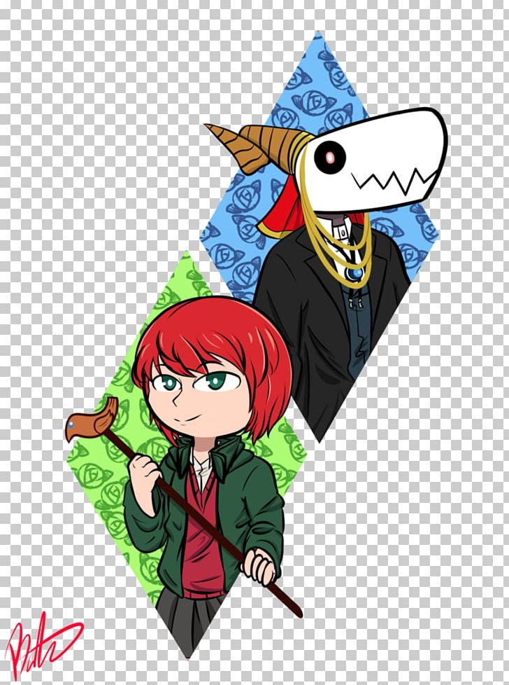 The Ancient Magus\' Bride Manga Art Illustration Anime PNG.