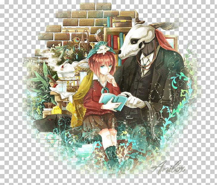 The Ancient Magus\' Bride Fan art Manga Drawing, manga PNG.