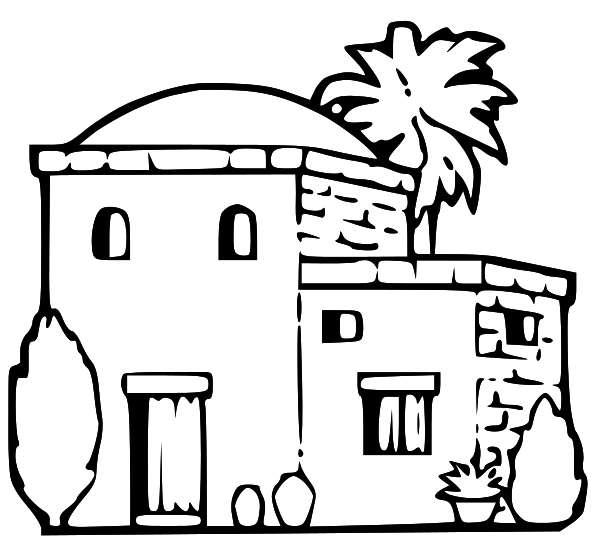 LDS Clipart: ancient building clip art.