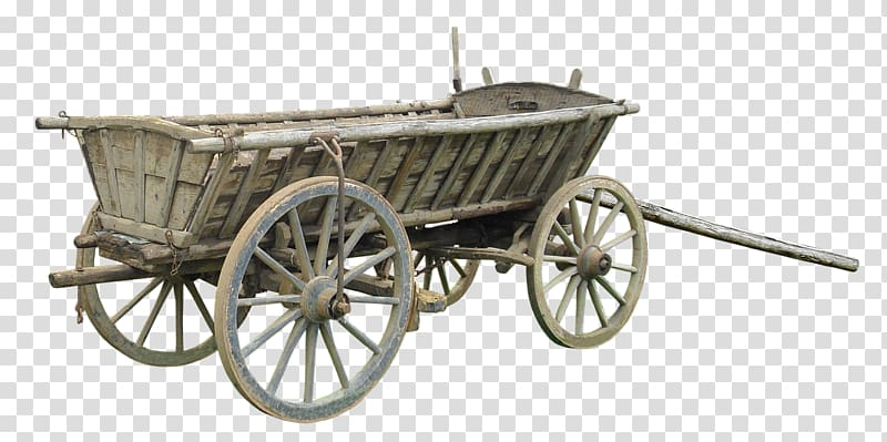 Covered wagon Cart Horse.