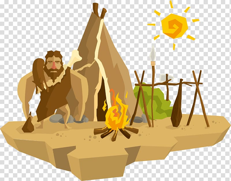 Allegory of the Cave transparent background PNG cliparts.