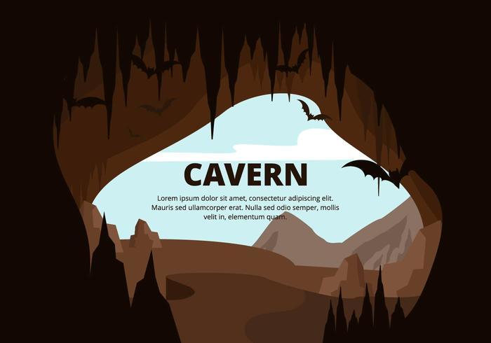 Cavern Illustration.