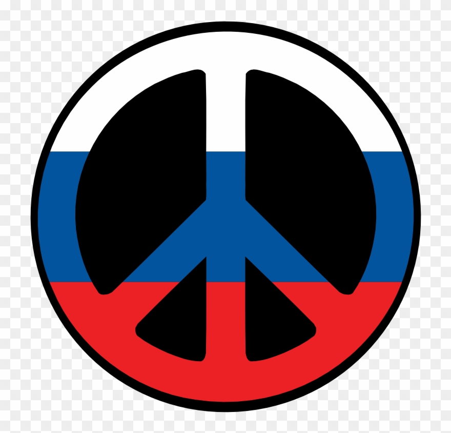 Russia Peace Symbol Flag 4 Scallywag Peacesymbol.