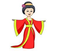 suntzu chinese warrior clipart size 54 kb. oriental dragon.
