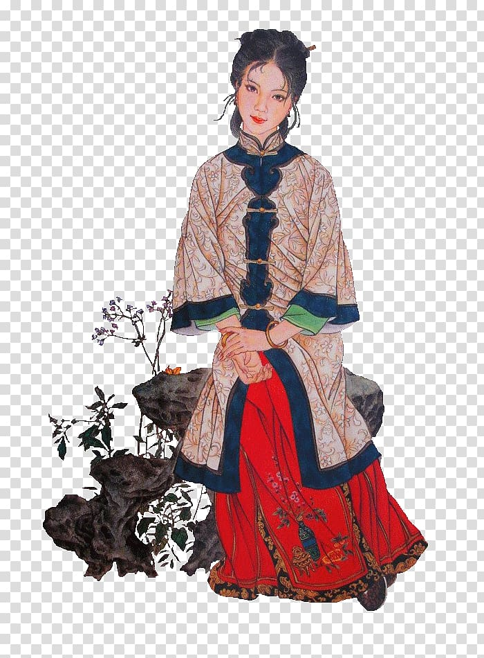 Wang Xifeng Dream of the Red Chamber Qing dynasty Pinger Jia.
