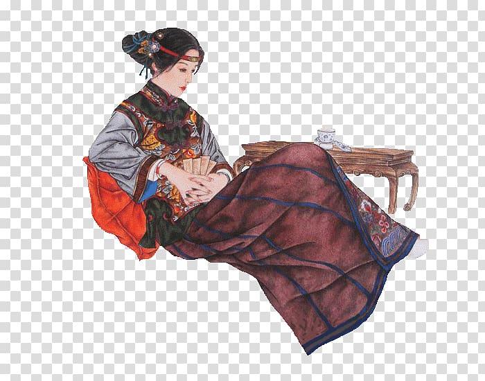 Dream of the Red Chamber Water Margin You Erjie Xue Baochai.