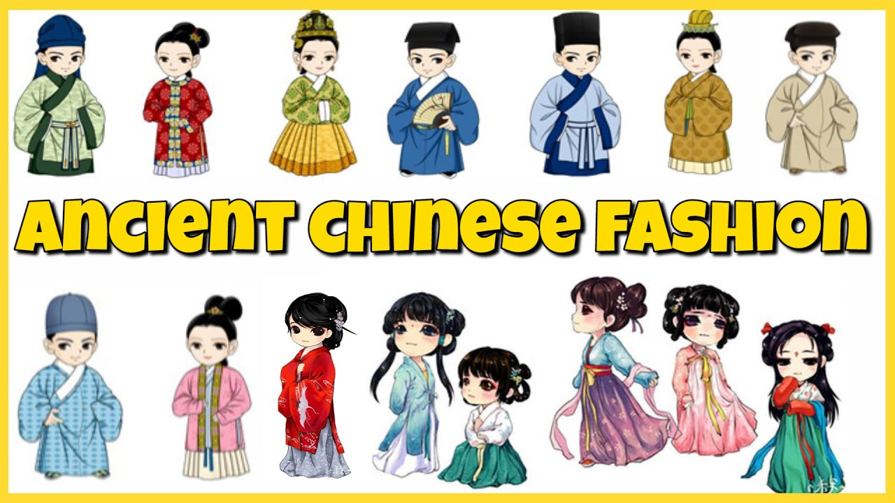 Chinese Fashion Through the Dynasties.