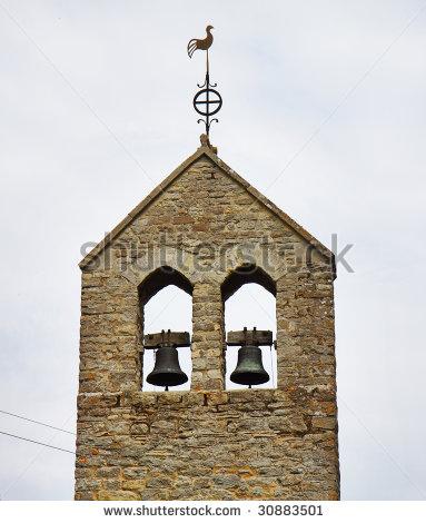 Church Bell Tower Clipart.