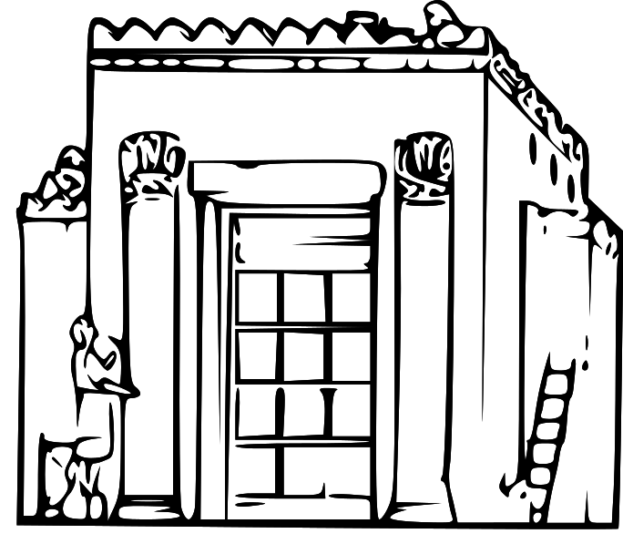 LDS Clipart: ancient city clip art.