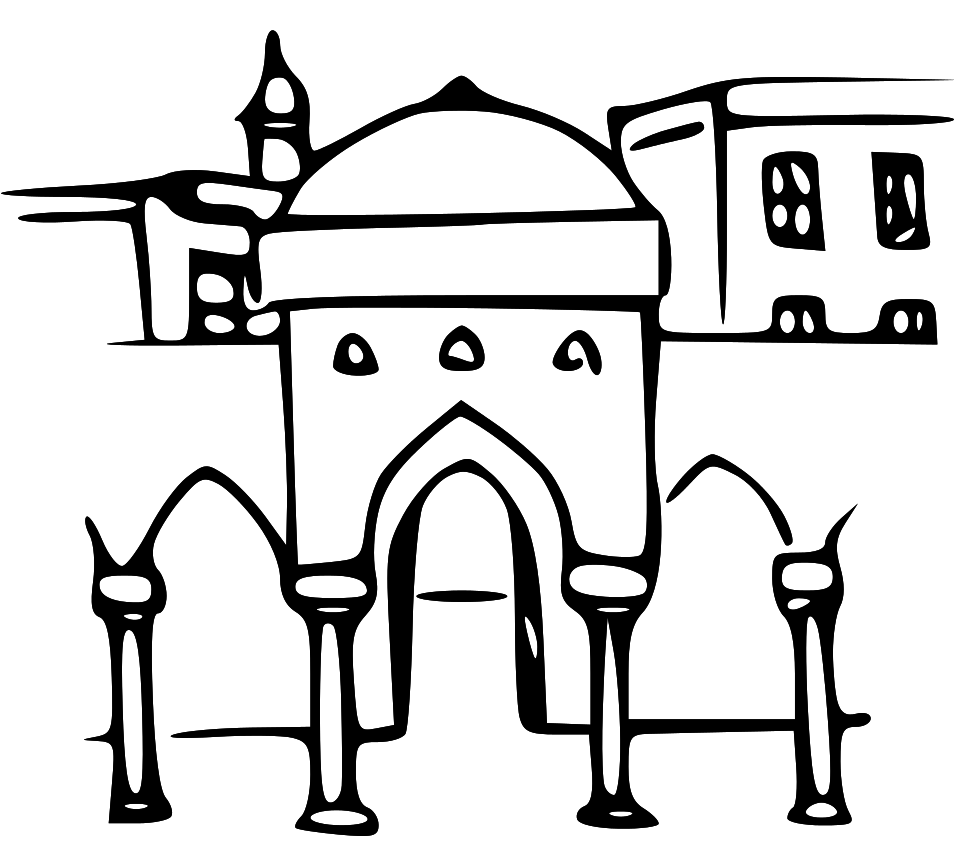 Ancient city clipart.