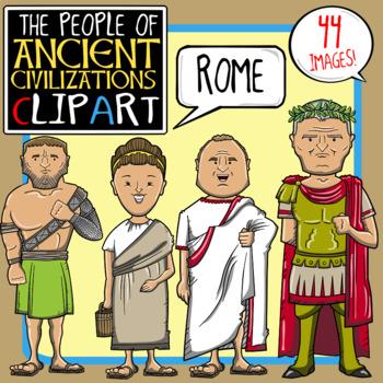 People of Ancient Civilizations Clip Art: Ancient Rome.