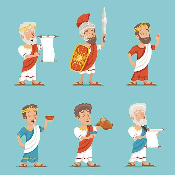 Best Ancient Civilization Illustrations, Royalty.