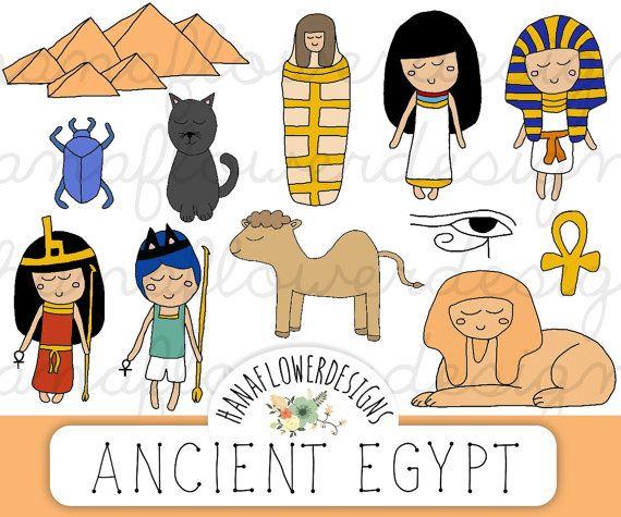 Ancient Egypt clip art: