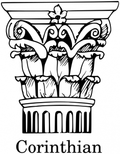 Corinthian Clip Art Download.