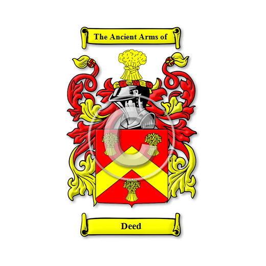 Deed Name Meaning, Family History, Family Crest & Coats of Arms.