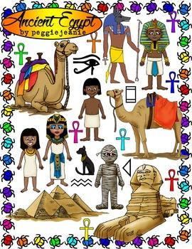 Ancient Egypt Clipart.