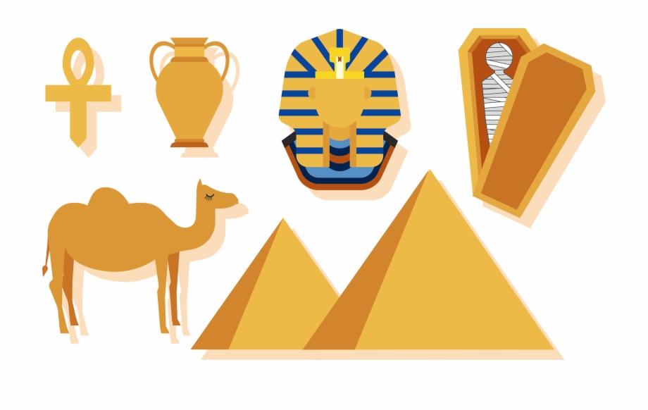 Egyptian Pyramids Ancient Egypt Clip Art.
